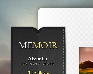 memoir - by Elegant Themes