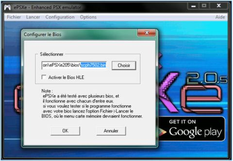 Configurer ePSXe | Playstation ParadiZe