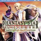 Phantasy Star Universe – Ambition of the Illuminus (U) (SLUS-21631)